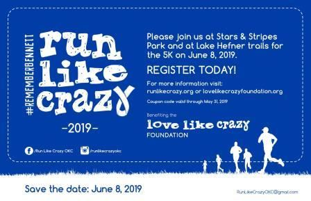 Run Like Crazy 5k 1m Fun
